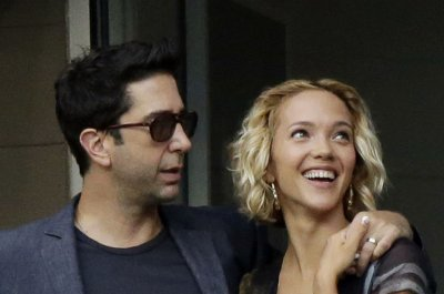 David Schwimmer, daughter Cleo attend charity benefit