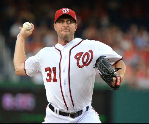 Washington Nationals' Max Scherzer flirts with no-hitter in win