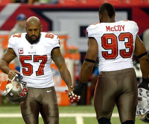 Bucs DT Gerald McCoy inactive vs. Falcons