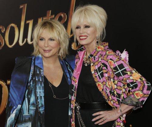Jennifer Saunders, Joanna Lumley attend 'Absolutely Fabulous' premiere