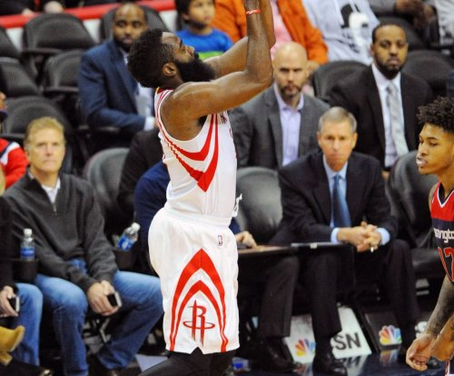 James Harden scores 42 in Houston Rockets' OT win over Chicago Bulls