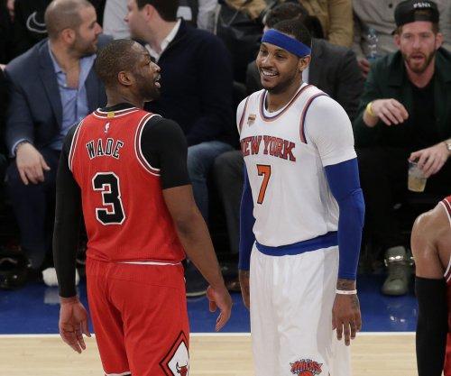 New York Knicks snap Chicago Bulls' four-game win streak