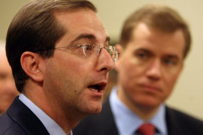 Trump nominates former pharma exec Alex Azar as health secretary