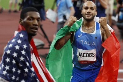 Italy's Jacobs beats USA's Kerley for Olympic gold in men's 100 dash