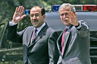 Bush, Maliki agree on 'aspirational goals'
