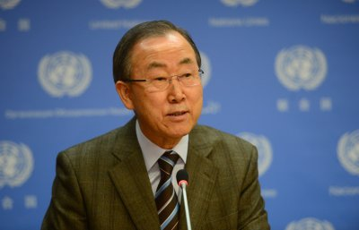 U.N. chief urges bold leadership on climate change