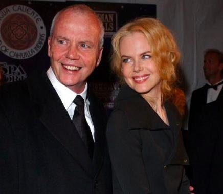 Nicole Kidman's father, Anthony, dies in Singapore