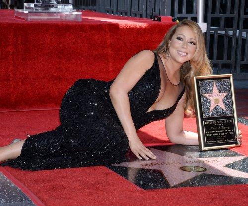 Mariah Carey's Hollywood Walk of Fame star vandalized with question mark
