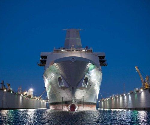 Future Navy LPD USS Portland completes Builder's Trials