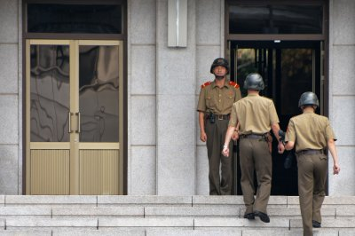 North Korea blasts South for joint air force drills