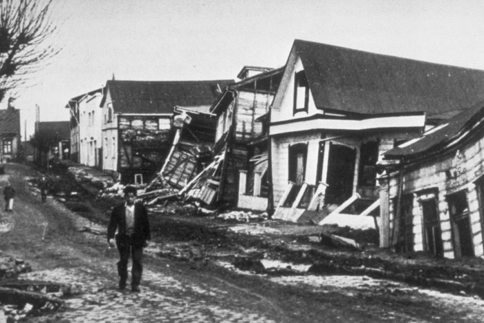 On This Day: Series of massive Chilean earthquakes begins