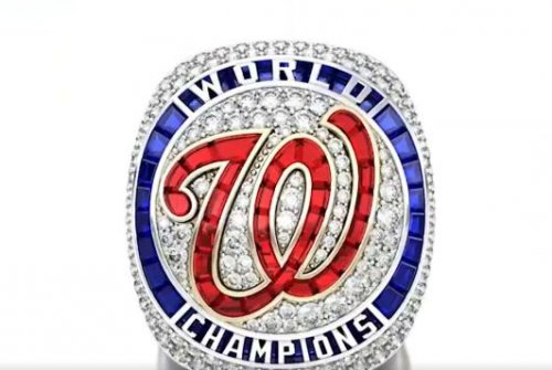 Nationals unveil 2019 World Series rings featuring monuments, 'Baby Shark'