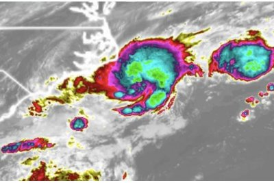 Tropical Depression 2 rapidly develops off N.C. coast