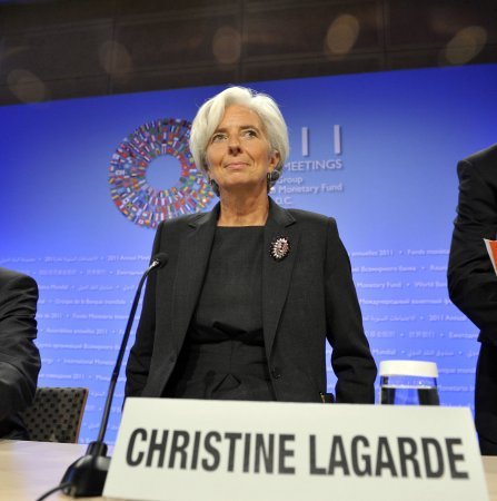 Largarde: IMF fund not enough
