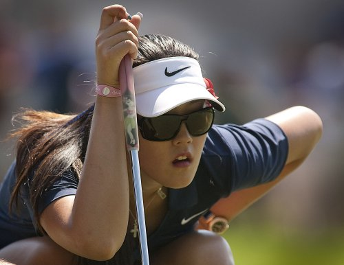 Wie joins trio atop Canadian Women's Open