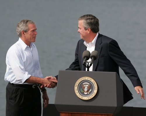 George W. Bush pushes Jeb for president on Fox News