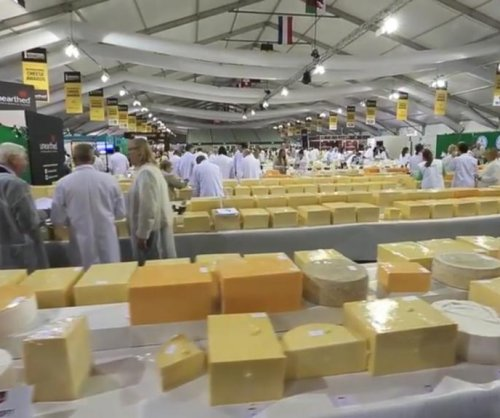 International Cheese Awards features more than 5,000 cheeses