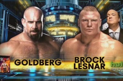 WWE Survivor Series: Goldberg dominates Brock Lesnar, Raw and Smackdown collide
