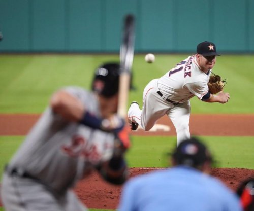 Houston Astros win pitching duel over Detroit Tigers