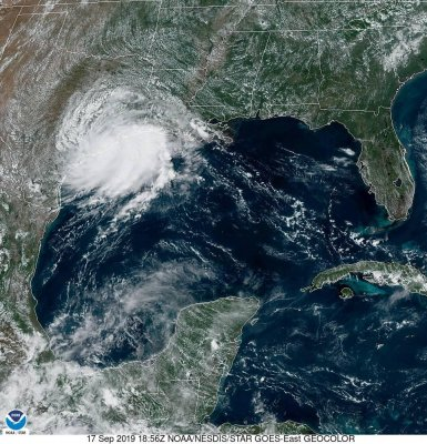 Tropical storm warnings issued for parts of Gulf Coast as Imelda forms