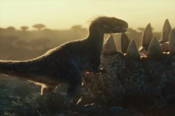Dinosaurs butt heads in 'Jurassic World: Dominion' teaser
