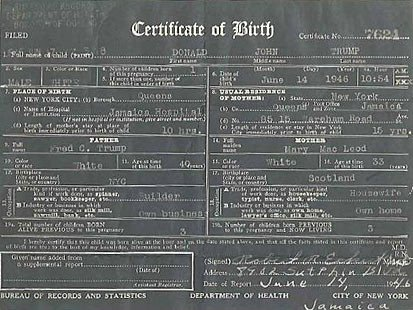 Awesome Birth Certificate Bronx Ny Photos - Online Birth Certificate ...