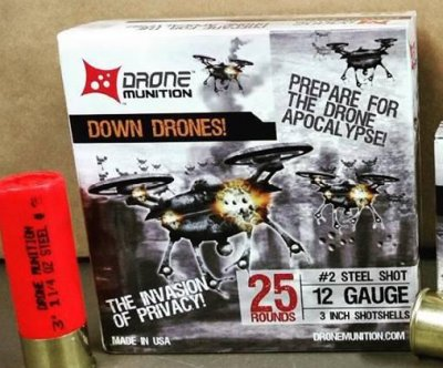 Shotgun shells designed to take out 'drone threats'