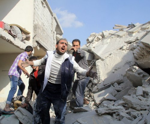 Islamic State bombing in Damascus kills 45; Kerry urges peace