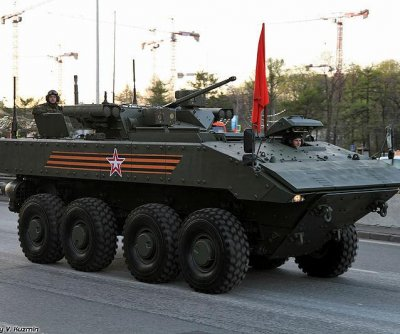 Russia testing Bumerang armored personnel carrier
