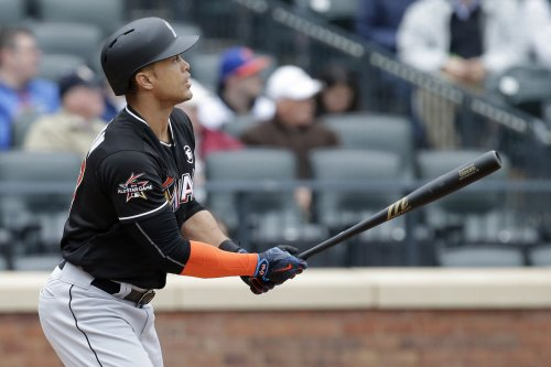 Giancarlo Stanton, Justin Bour go deep as Miami Marlins sink Los Angeles Angels