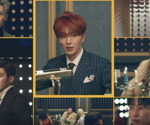 Super Junior returns with new album, single 'Black Suit'