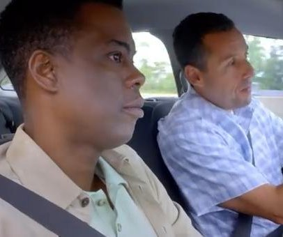 Chris Rock, Adam Sandler prepare to be in-laws in 'Week Of' trailer