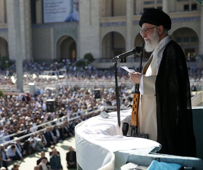 Iran leader Khamenei: Won't talk to U.S. without 2015 nuclear deal