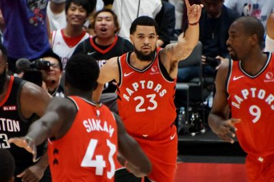 NBA suspends Raptors' Fred VanVleet, two others for leaving bench in scuffle