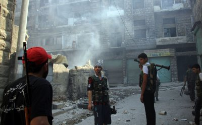 U.S. arms to Syrian rebels 'never came up'