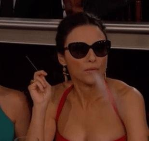 Senate Dems are not happy about Julia Louis-Dreyfus' e-cig bit from the Golden Globes