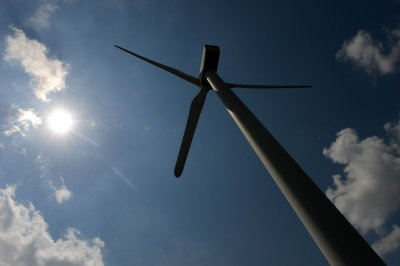 More British wind energy capacity online