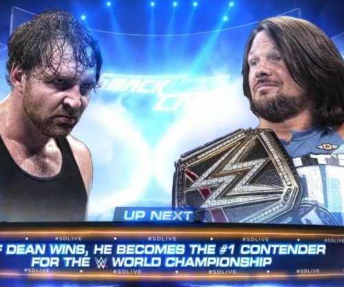 WWE Smackdown Live: James Ellsworth costs Dean Ambrose a title opportunity against AJ Styles