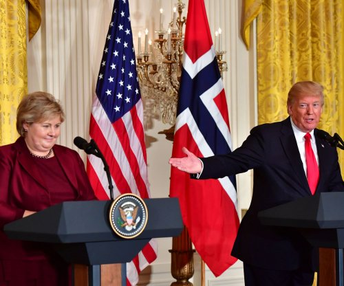 Watch live: Trump gives joint news conference with Norwegian PM