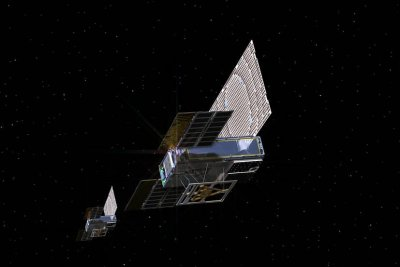 Mars-bound CubeSats send first signals from space