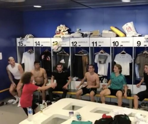 Marcelo's son shows soccer skills in bin challenge with Real Madrid