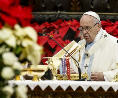 After year of bad press, Pope delivers new year Mass at St. Peter