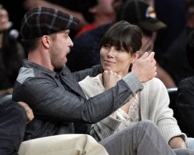 Timberlake and Biel celebrate engagement