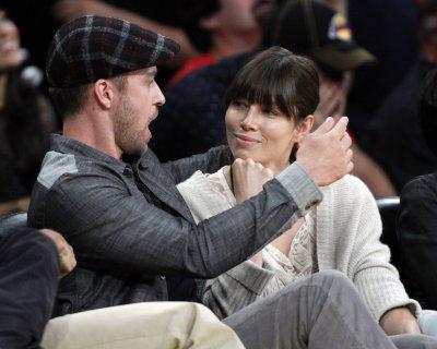 Timberlake and Biel celebrate engagement