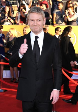 Kenneth Branagh knighted by queen