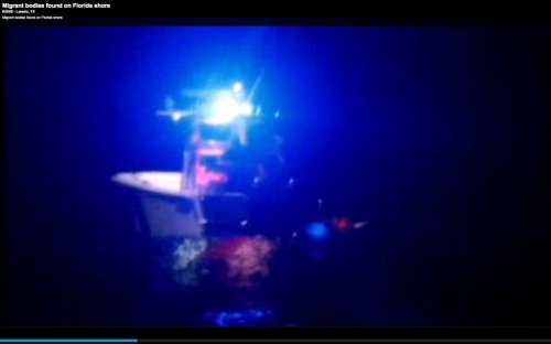 Bodies found floating off South Florida