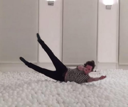 London gallery transformed into ball pit for adults