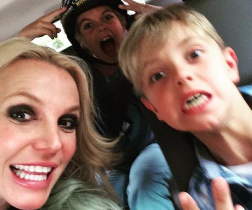 Britney Spears celebrates sons' birthdays with skate-themed party