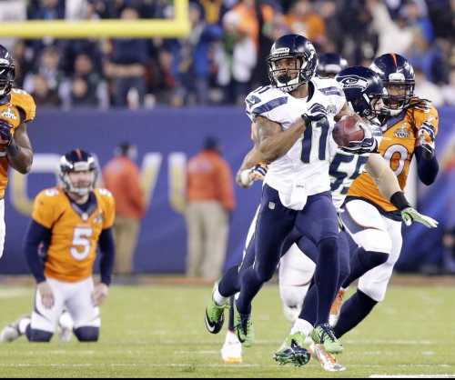 No-show WR Percy Harvin a hot topic in London