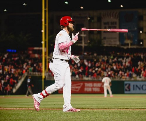 Bryce Harper's 2-run shot in ninth lifts Washington Nationals past Philadelphia Phillies